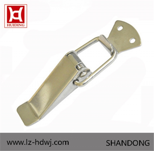 Locker Hasp /Stainless Steel draw Latch Box Hasp With Spring DK003
