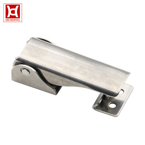 DK034 Adjustable Toggle Latch / Toolbox Self-lock Reverse Base Latches With Mounting Hole Hidden