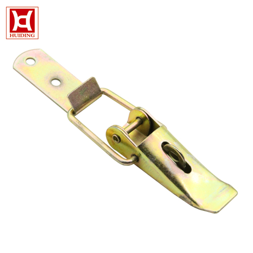 DK045 Zinc Plated Toggle Latches With Padlock Eye