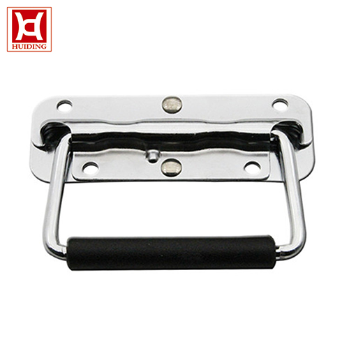 Spring Loaded Recessed Handle Pull Handle Toolbox Handle With 120KG Bearing Capacity