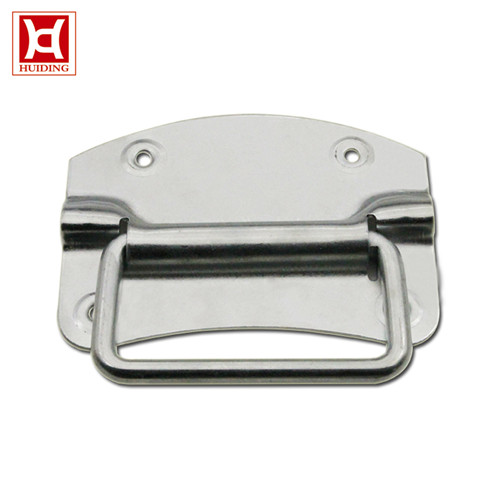 Zinc Plated Handle Iron Chest Handle