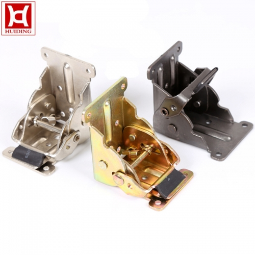 Zinc Plated Folding Table Leg Bracket Hinges